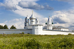 Nikitsky Monastery. Pereslavl Zalewski Stock Images