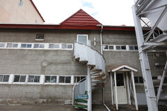 The Nikka Whiskey Factory Yoichi, Hokkaido. Yoichi Distillery is owned by Nikka Whisky Distilling Royalty Free Stock Photos