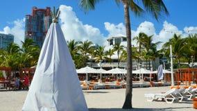 Nikki Beach Club Miami Beach. Stock video of Nikki Beach Club Miami Beach FL stock footage