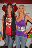 Nikki Benz,Bridgetta Tomarchio. Jayden Jaymes and Nikki Benz at Bridgetta Tomarchio B-Day Bash and Babes in Toyland Toy Drive, Lucky Strike, Hollywood, CA. 12-04 stock photography