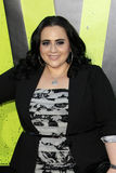 Nikki Blonsky arrives at the  Stock Photography