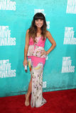 Nikki Deloach arriving at the 2012 MTV Movie Awards Royalty Free Stock Photos