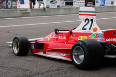 Nikki Lauda's Ferrari Royalty Free Stock Photos