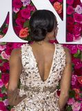 Nikki M James llega Tony Awards 2018 fotos de archivo