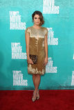 Nikki Reed arriving at the 2012 MTV Movie Awards Stock Photos