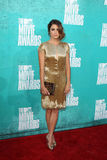 Nikki Reed arriving at the 2012 MTV Movie Awards Stock Photo