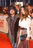 Nikki Sixx of Mötley Crüe at Toronto international film festival 2017 at premiere of Tragically Hip documentary. Nikki Sixx of Mötley Crüe and guest at Stock Photography
