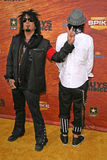 Nikki Sixx,Tommy Lee. Nikki Sixx and Tommy Lee  at Spike TV's 2nd Annual Guys Choice Awards. Sony Pictures Studios, Culver City, CA. 05-30-08 Stock Photography