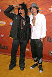 Nikki Sixx,Tommy Lee Stock Images