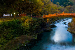 Nikko bridge Stock Image