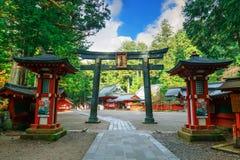 Nikko Futarasan shrine in NIkko, Japan Stock Photo