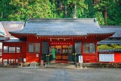 Nikko Futarasan shrine in NIkko, Japan Stock Photography