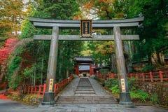 Nikko Futarasan Shrine in Nikko, Japan Royalty Free Stock Photography