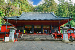 Nikko Futarasan Shrine in Nikko, Tochigi, Japan Royalty Free Stock Photography