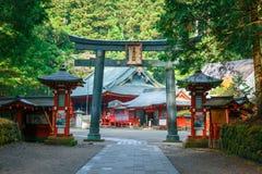 Nikko Futarasan Shrine in Nikko, Tochigi, Japan Royalty Free Stock Image