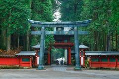 Nikko Futarasan Shrine in Nikko, Tochigi, Japan Stock Photos