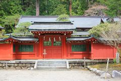 Nikko Futarasan Shrine in Nikko, Royalty Free Stock Photography