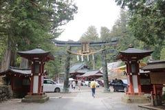 Nikko Futarasan Shrine in Nikko Royalty Free Stock Image