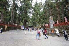 Nikko Futarasan Shrine in Nikko, Stock Photography