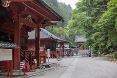 NIKKO, GIAPPONE - JUNE18, 2014: Santuario di Toshugu Il santuario di Toshogu è t Fotografia Stock Libera da Diritti
