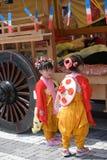 NIKKO, JAPÓN - 16 DE ABRIL: La población de Nikko celebra el festiva de Yayoi Imágenes de archivo libres de regalías