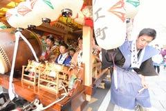 NIKKO, JAPAN - 16. APRIL: Leute von Nikko feiern Yayoi-festiva Stockfotos