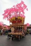 NIKKO, JAPAN - 16. APRIL: Leute von Nikko feiern Yayoi-festiva Stockfoto