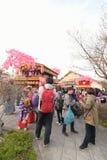 NIKKO, JAPAN - APRIL 16: People of Nikko celebrate Yayoi festiva Stock Photography