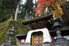 Nikko, Japan, in de Herfst Stock Fotografie