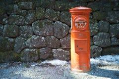 NIKKO, JAPAN - FEBRUARY 22, 2016 : The vintage mailboxes japanes Stock Photos