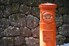 NIKKO, JAPAN - FEBRUARY 22, 2016 : The vintage mailboxes japanes Royalty Free Stock Photos