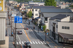 NIKKO, JAPAN - JUNE 18: In front of Nikko Tourist Information Ce Stock Image
