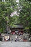 NIKKO, JAPAN - JUNE18, 2014: Toshugu Shrine. Toshogu Shrine is t Royalty Free Stock Photos