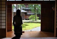 Tamozawa Imperial Villa royalty free stock photo