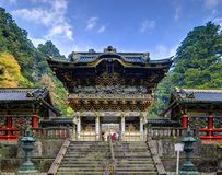 Nikko Gu świątynia Fotografia Royalty Free