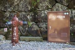 NIKKO JAPONIA, LUTY, - 22, 2016: Japoński hydrant na stree Obraz Stock