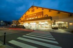 NIKKO JAPONIA, LUTY, - 21, 2016: stacja kolejowa na Tobu N Obraz Stock