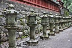 Japońscy lampiony Fotografia Royalty Free