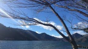Nikko sjö Fotografering för Bildbyråer