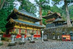 Nikko Toshogu świątynia w Nikko, Japonia Fotografia Stock
