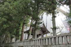The area of Rinnoji Temple Royalty Free Stock Images