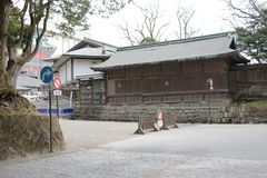The area of Rinnoji Temple Gate Royalty Free Stock Photo