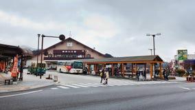 Nikko Tourist Information Stock Image