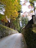 Nikko-Wegtempel Stockbild