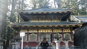 Nikko światowego dziedzictwa miejsce Japonia Obrazy Royalty Free