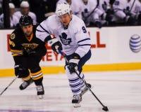 Niklas Hagman, Toronto Maple Leafs en avant Image stock