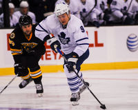 Niklas Hagman Toronto Maple Leafs framåtriktat Fotografering för Bildbyråer