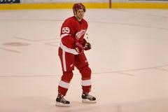 Niklas Kronwall de los Detroit Red Wings Fotos de archivo libres de regalías
