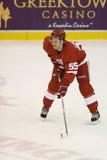 Niklas Kronwall que está no gelo Center Imagem de Stock
