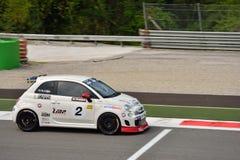 Niklas Liljia Abarth Trophy Fiat 2015 500 à Monza Photos libres de droits